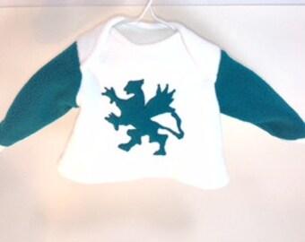 Gryphon Baby Sweatshirt, 3 mo.