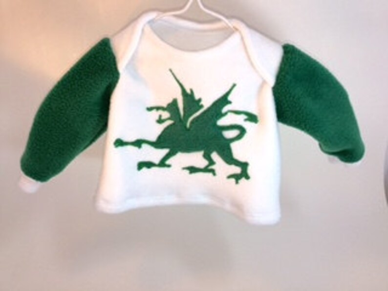 Dragon Baby Sweatshirt 6 mo.