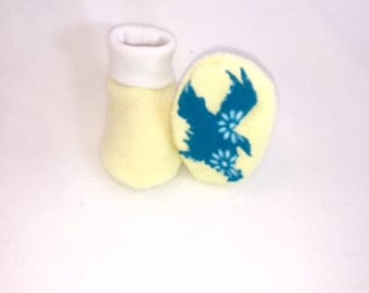 Eagle Baby Booties