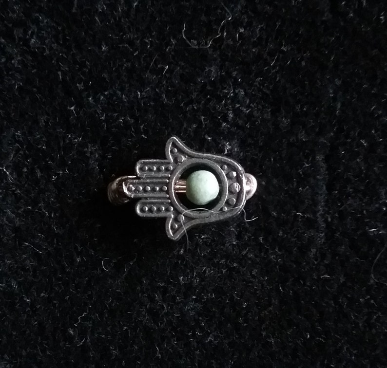 Silver Charm ring