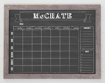 Framed Chore Charts