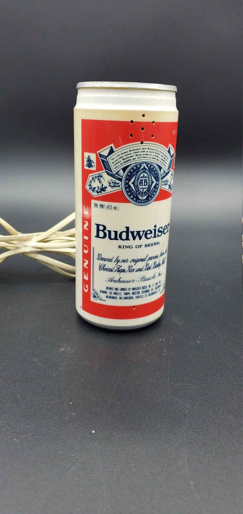 with Cord Classic Push Button Budweiser Can Phone.....