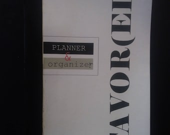 FAVOR(ED) Personal Planner