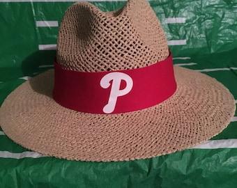 Philadelphia phillies straw hat