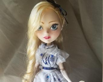 Alice in Wonderland OOAK doll