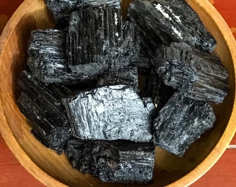 Large chunk of black tourmaline