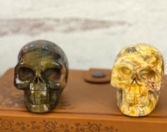 3 inch Crystal Skulls