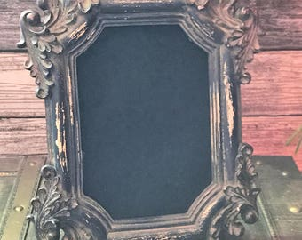 Primitive Scrying Mirror,Gorgeous Grunge Victorian Mirror,Peeping Gazing Seeing Psychic,Divination Occult Witchcraft Witch Clairvoyant Tool