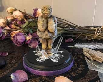Venus of Willendorf Statue, Limited Editions Venus Statue, Altar Goddess, Goddess Art, Goddess Figurine, Witch Decor, Goddess Decor