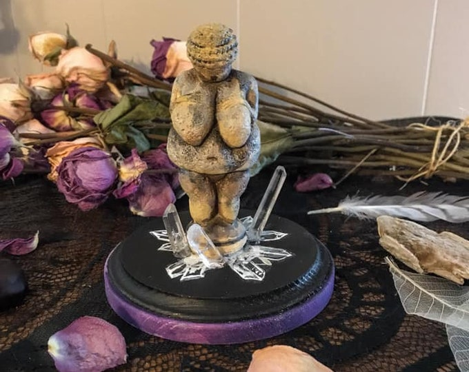 Featured listing image: Venus of Willendorf Statue, Limited Editions Venus Statue, Altar Goddess, Goddess Art, Goddess Figurine, Witch Decor, Goddess Decor
