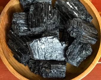Large chunk of black tourmaline