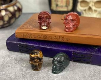 2 Inch Crystal Skulls, Small Crystal skulls