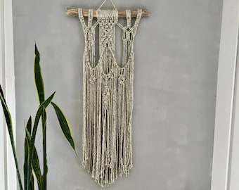 Stepping Stones: Macrame Woven Wall Hanging