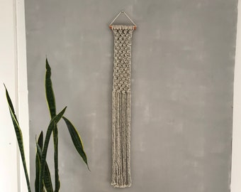 Infinite Possibilities: Woven Macrame Wall Hanging