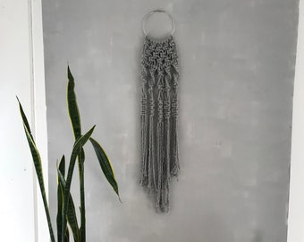 Fade Into You:  Macrame Wall Hanging