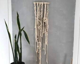 Realm of Spirit: Macrame Wall Hanging