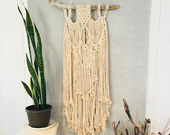 Your Spirit's Desire: Macrame Wall Hanging