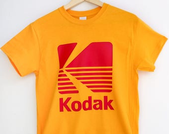 Vintage Kodak Film Camera Logo T-Shirt Photography