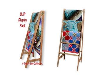 Wooden Quilting Rack