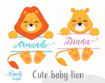 Little Lion Svg Etsy