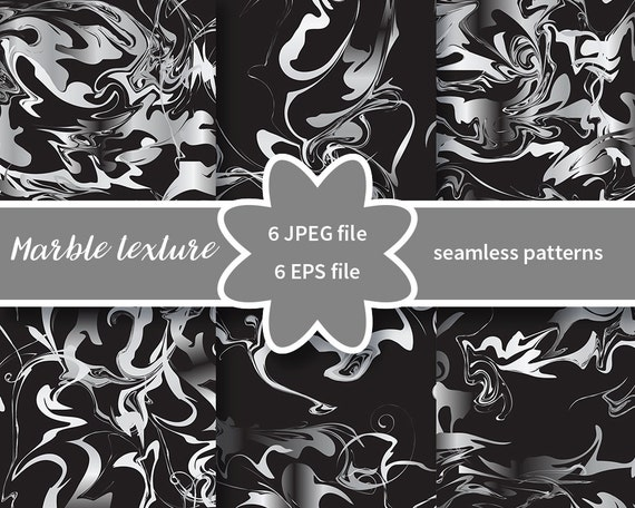 Marble Silver Texture Seamless Pattern Trendy Colors Christmas Wallpaper