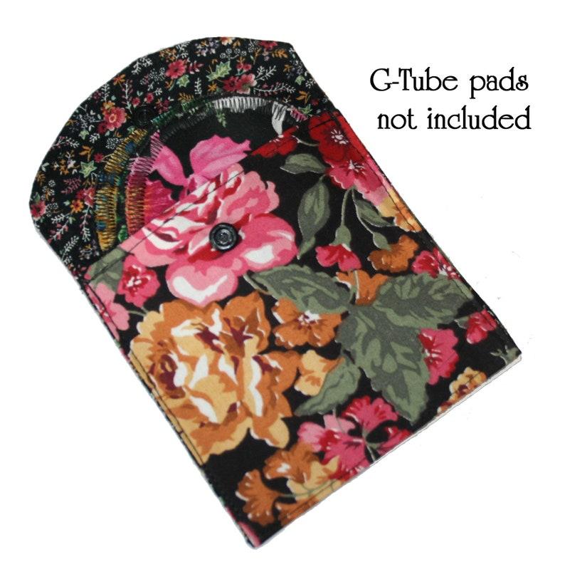 cloth pouch .. Pretty Floral coin Pouch . G-Tube Pouch . card pouch .