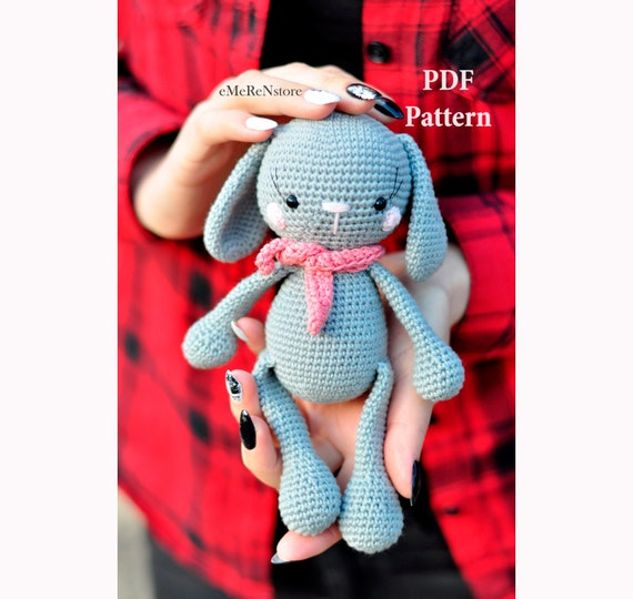 Crochet Amigurumi Bunny | 540x570