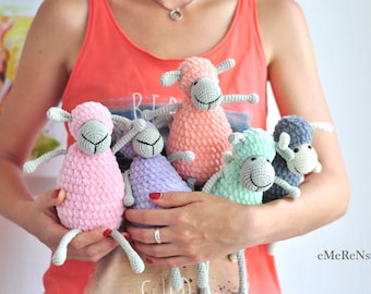 Amigurumi Pattern Сrochet sheep, Cute sheep, amigurumi pattern, lamb pattern, crochet animals, PDF pattern, crochet toy pattern