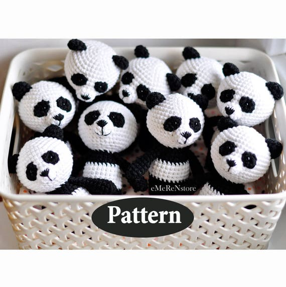 Super Cute Panda Crochet Patterns You Will Love | The WHOot | 572x570