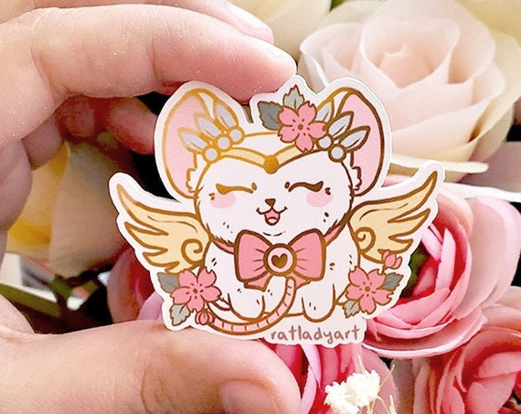 Magical Girl Chibiusa Mouse Die-cut Matte Stickers