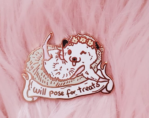 Hedgehog Spring Trash Animals Hard Enamel Pin Gold Metal