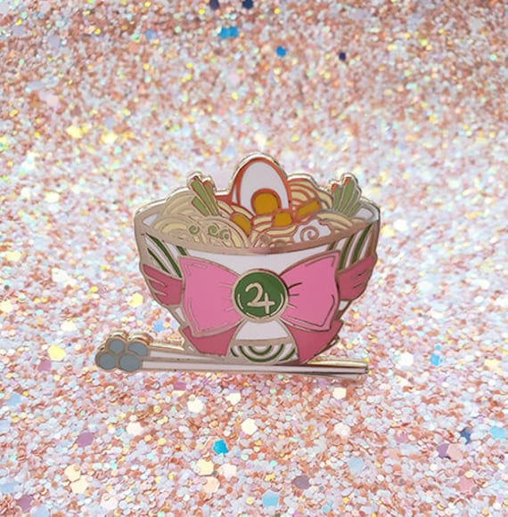 Sailor Jupiter Ramen Hard Enamel Pin Sailor Moon Magical Girl
