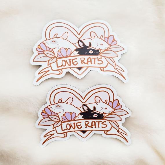 Love Rats Magnet