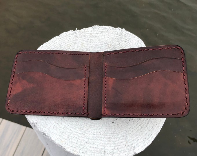 Avancorpo Leather Bifold Wallet- Macchiato