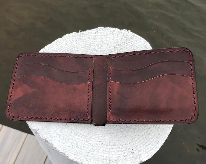 Avancorpo Leather Bifold Wallet- Macchiato