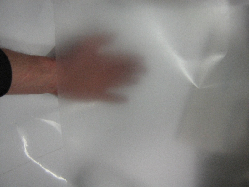 "3 Sample sheets 8x12/"" EZ-Weed Polyester SuperBrite Chrome Sign Vinyl Sheeting"