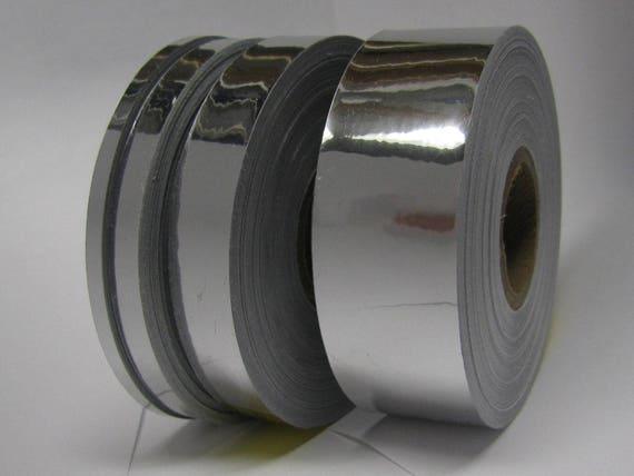 Automotive Grade Mirror Tape Silver Chrome Vinyl Tape 1 inch  x 50 feet