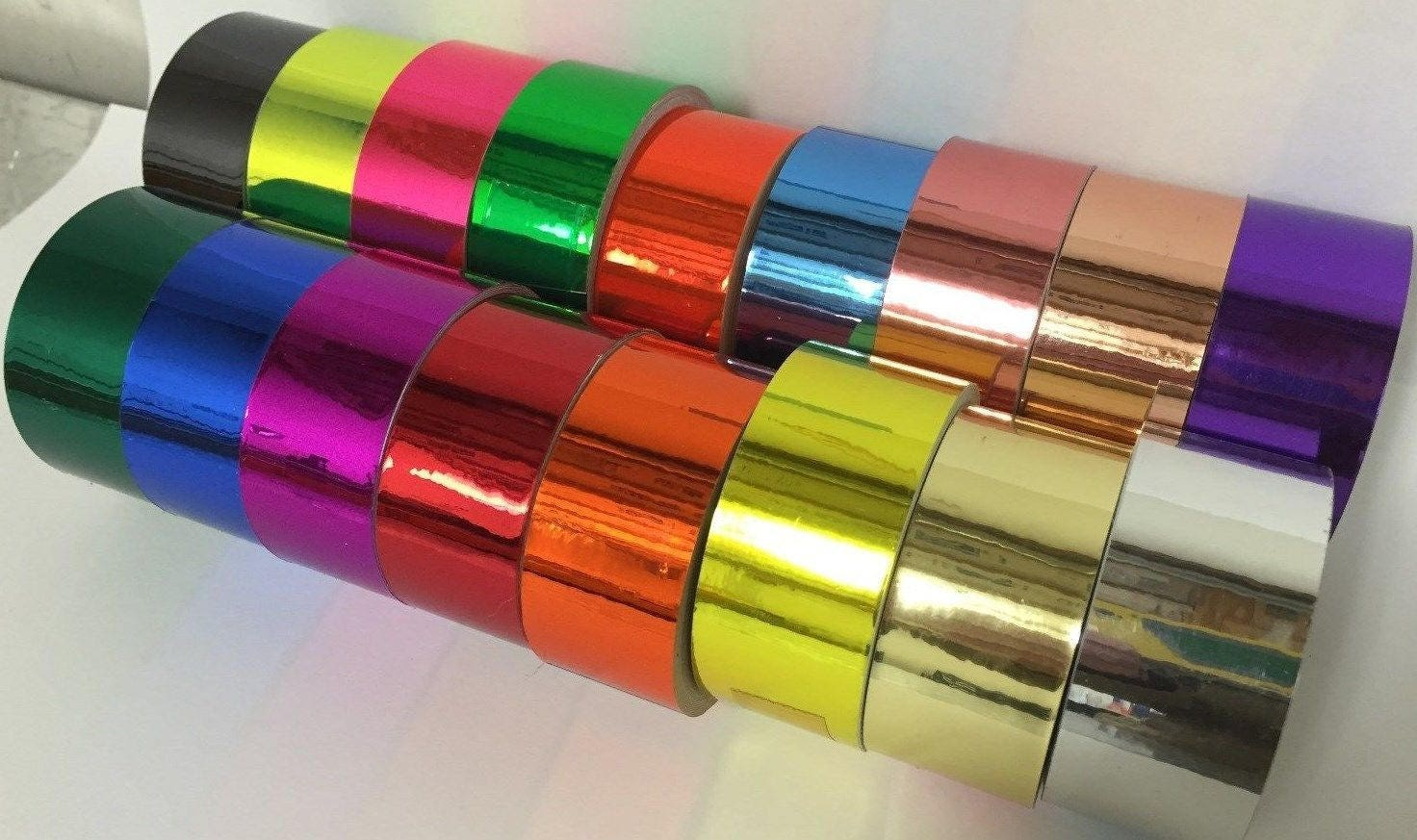 Colored Chrome Tape Adhesive Tape Free Shipping For Usa Etsy