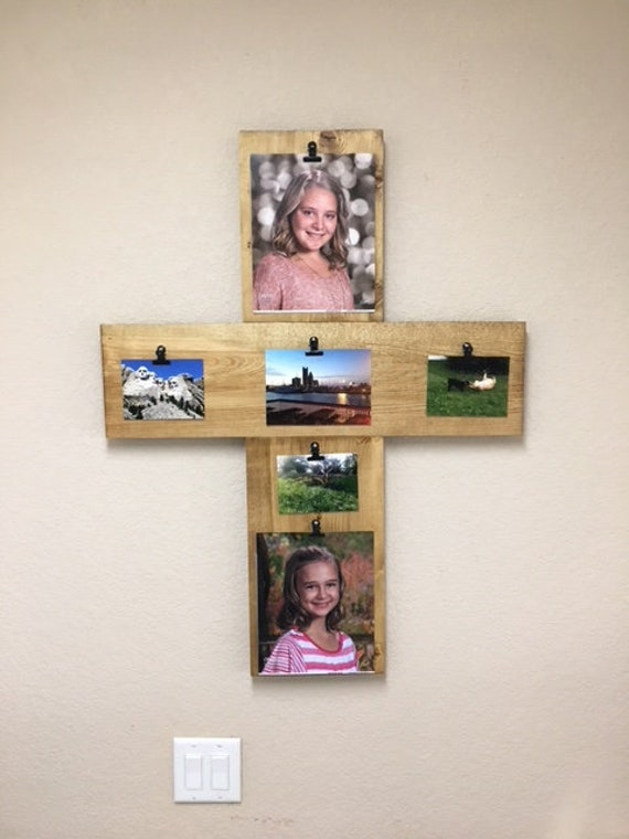 Cross Cross Photo Collage Cross Picture Collage Cross Photo Etsy