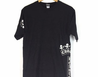 705677db2206 Vintage 90s Chrome Hearts by Foti Tshirt Spellout Made In Usa   medium size