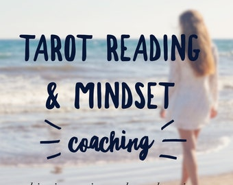 Tarot Reading With Mindset Life Coaching, Intuitive Coach, Life Coach, Introductory Session, Love Tarot Reading, Mindset Coaching Session