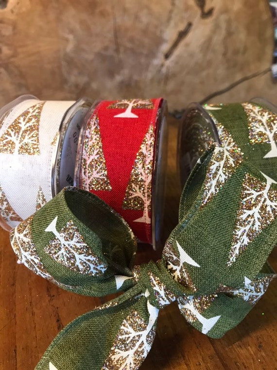 38mm wide ideal for all arts and craft work 2 Metres   Wired Edge Ribbon