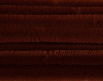 Trimits ST29 50 pack 12mm x 30cm Brown Chenille Jumbo Pipe Cleaners