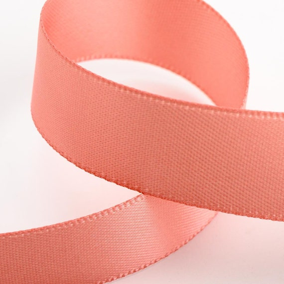 3MM width 50 m length ROSE GOLD Double sided Satin Ribbon