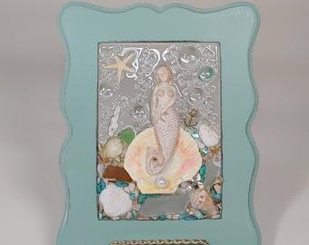 5x7 Birth of Venus Mermaid Tears Art Frame