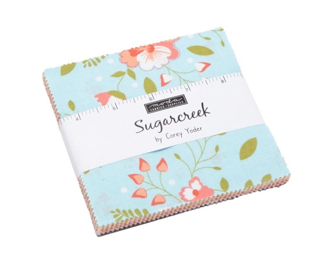 "Sugarcreek 5"" Charm Pack by Corey Yoder for Moda - 42 Pieces"