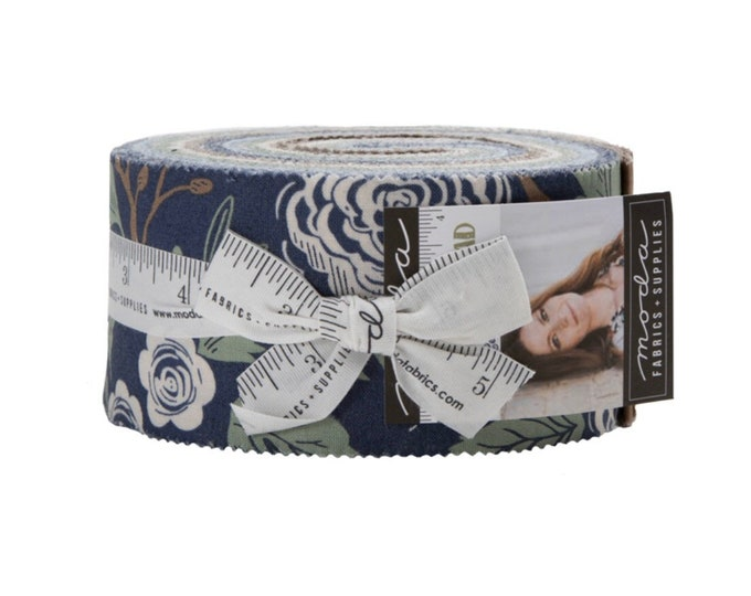 Harvest Road Jelly Roll by Lella Boutique for Moda - 42 Pieces