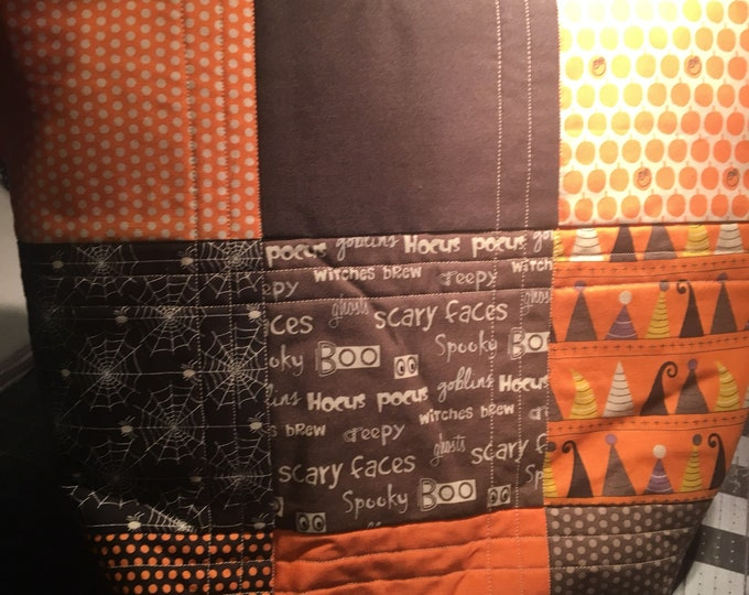Halloween Quilted Bag