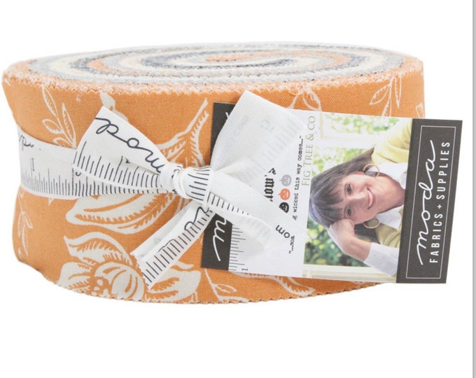 All Hallows Eve Jelly Roll by Fig Tree & Co for Moda - 42 Pieces