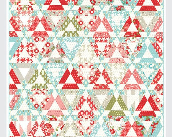 Hopscotch Quilt Pattern from Thimble Blossoms by Camille Roskelley